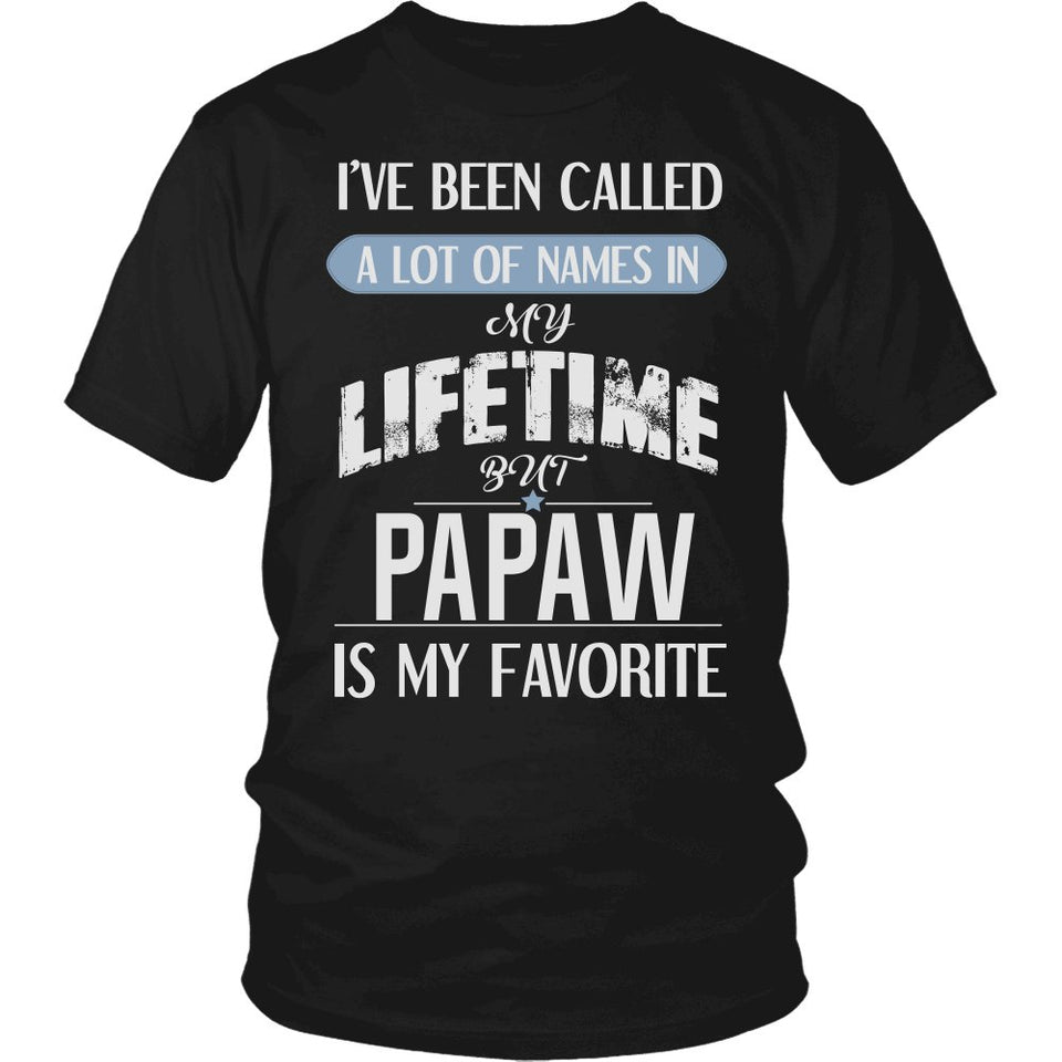 """My Favorite Name is Papaw"" T-Shirt"