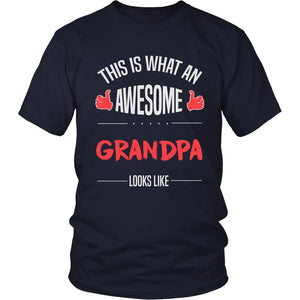 """Awesome Grandpa"" T-Shirt"