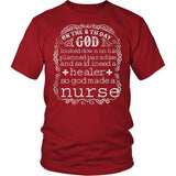 God Made a Nurse T-Shirt