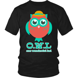 """O.W.L. One Wonderful Lad"" T-Shirt"