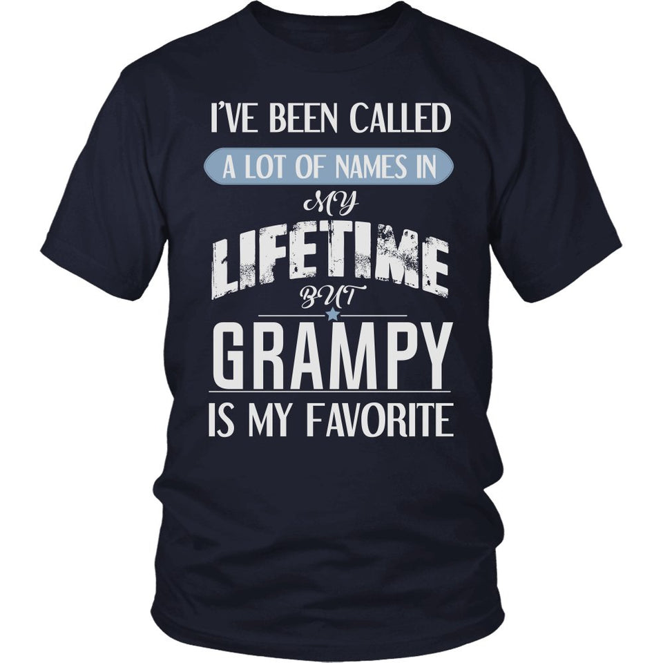 """My Favorite Name Is Grampy"" T-Shirt"