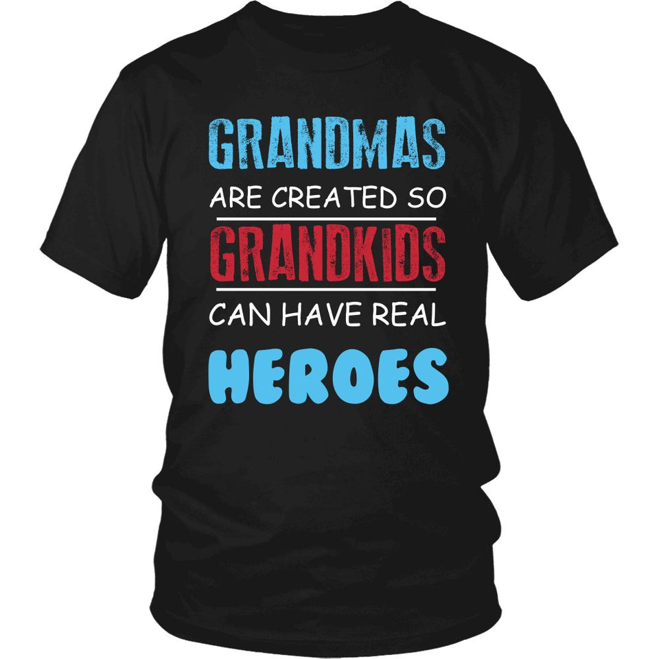 Grandmas - Grandkids Real Hero T-Shirt