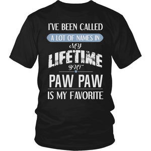 """My Favorite Name is Paw Paw"" T-Shirt"