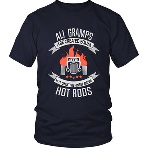 Only the Finest Gramps Drive Hot Rods T-Shirt