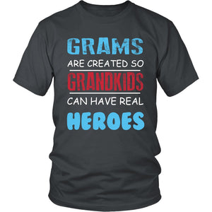 Grams - Grandkids Real Hero T-Shirt