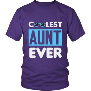 """Coolest Aunt Ever"" T-Shirt"