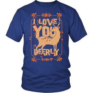 I Love You Deerly T-Shirt