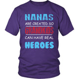 Nanas - Grandkids Real Hero T-Shirt