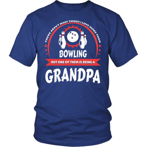 This Grandpa Loves Bowling T-Shirt