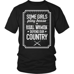 Real Women Defend Our Country T-Shirt
