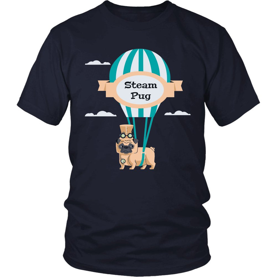 Steam Pug T-Shirt