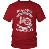 """Only The Coolest Grandpas Ride Motorcycles"" T-Shirt"