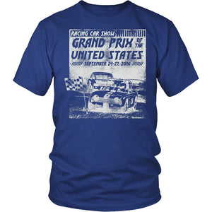 Racing Car Show Grand Prix Of The United States T-Shirt