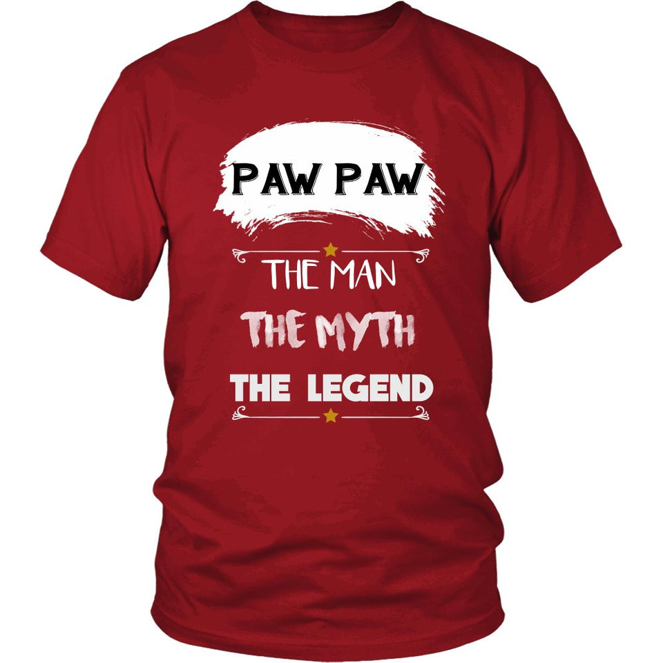 Paw Paw The Man, The Myth, The Legend T-Shirt