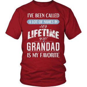"""My Favorite Name is Grandad"" T-Shirt"