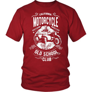 California Motorcycle Old School Club T-Shirt