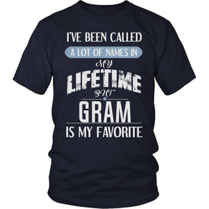 """My Favorite Name Is Gram"" T-Shirt"