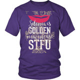 Silence Is Golden Now Please STFU T-Shirt