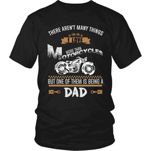 This Dad Loves Motorcycles T-Shirt
