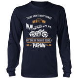 This Papaw Loves Motorcycles T-Shirt