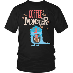 """Coffee Monster"" T-Shirt"
