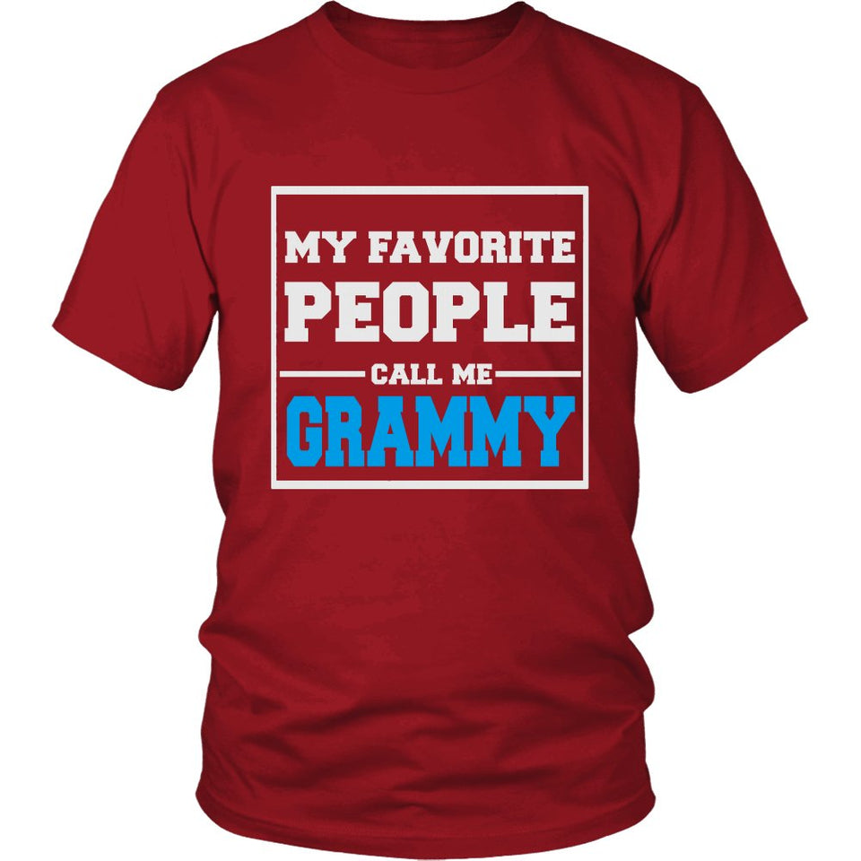 """My Favorite People Call Me Grammy"" T-Shirt"