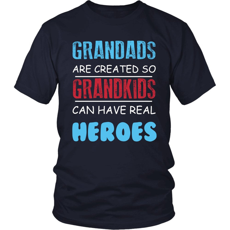 Grandads - Grandkids Real Hero T-Shirt