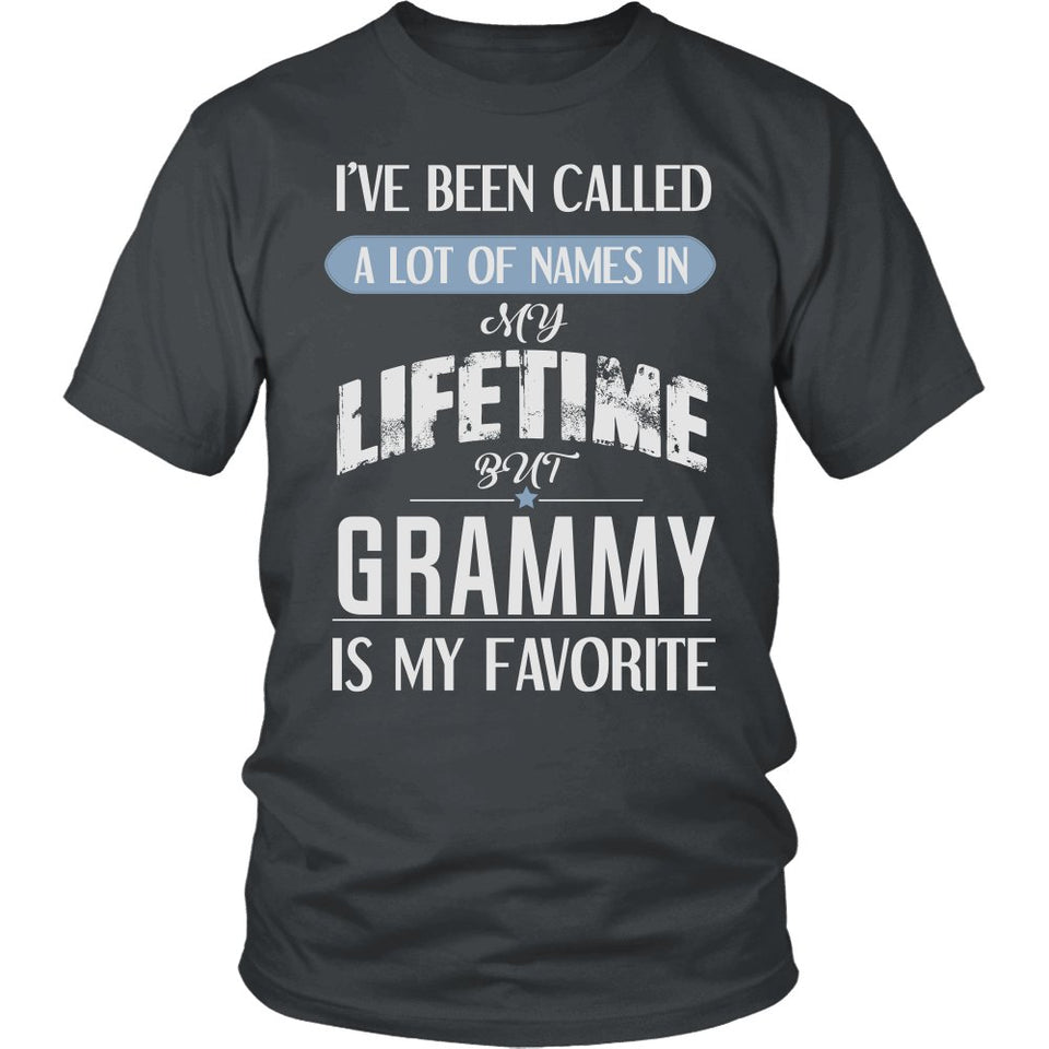 """My Favorite Name Is Grammy"" T-Shirt"