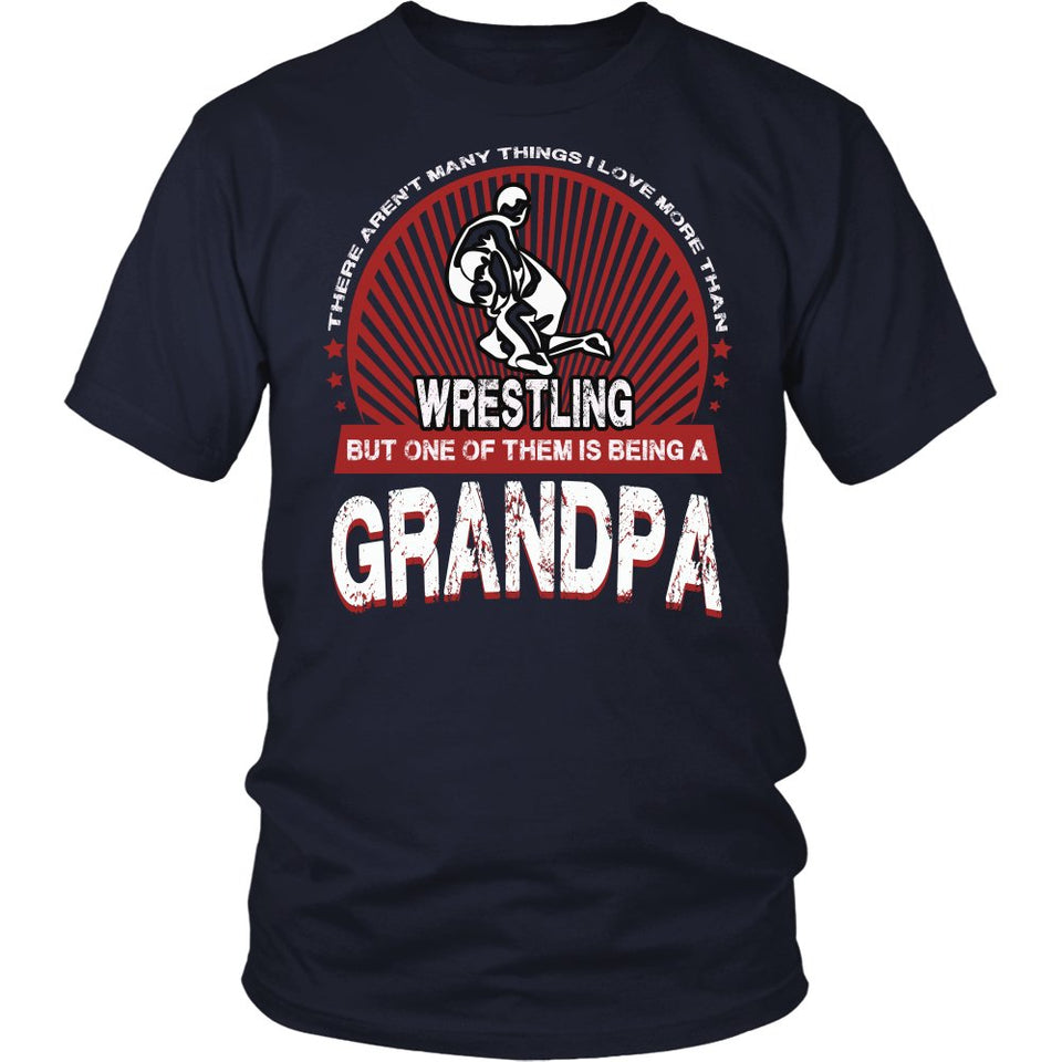 This Grandpa Loves Wrestling T-Shirt