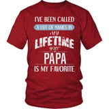 """My Favorite Name Is Papa"" T-Shirt"