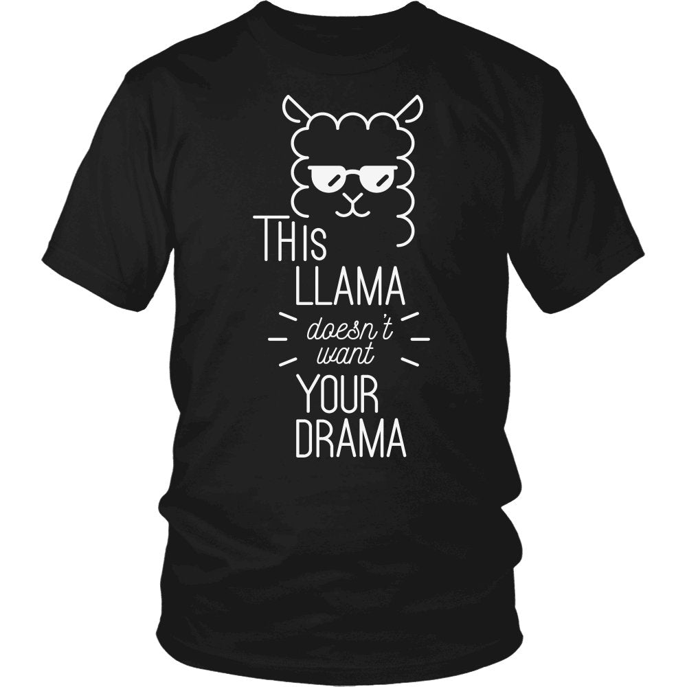 This Llama Doesn't Want Your Drama T-Shirt