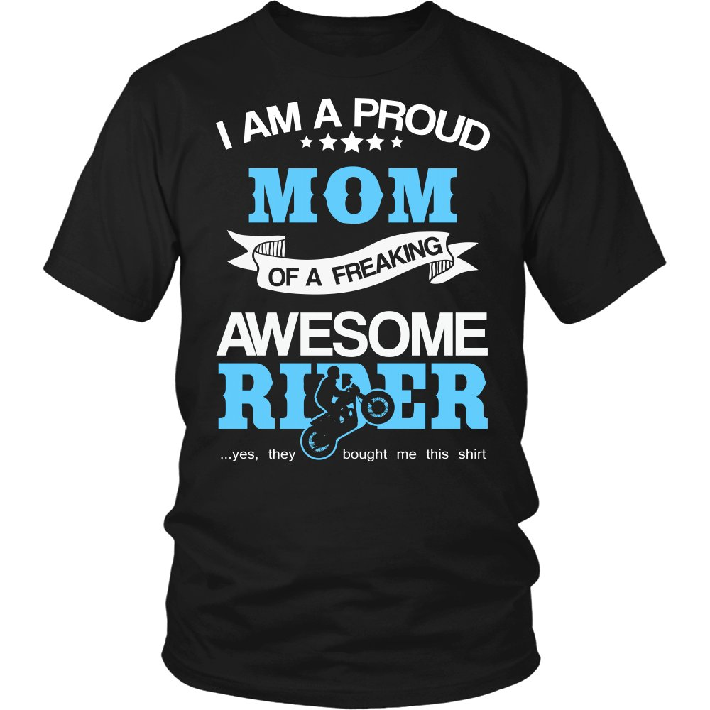 Proud Mom of An Awesome Motocross Rider T-Shirt
