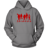 Horror Movie Friends Hoodie