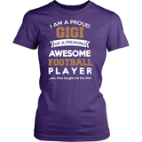 Proud Gigi of An Awesome Football Player T-Shirt