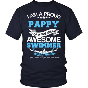 Proud Pappy of An Awesome Swimmer T-Shirt