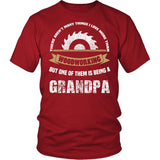 This Grandpa Loves Woodworking T-Shirt