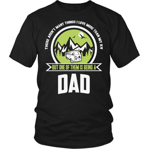 """This Dad Loves His RV"" T-Shirt"