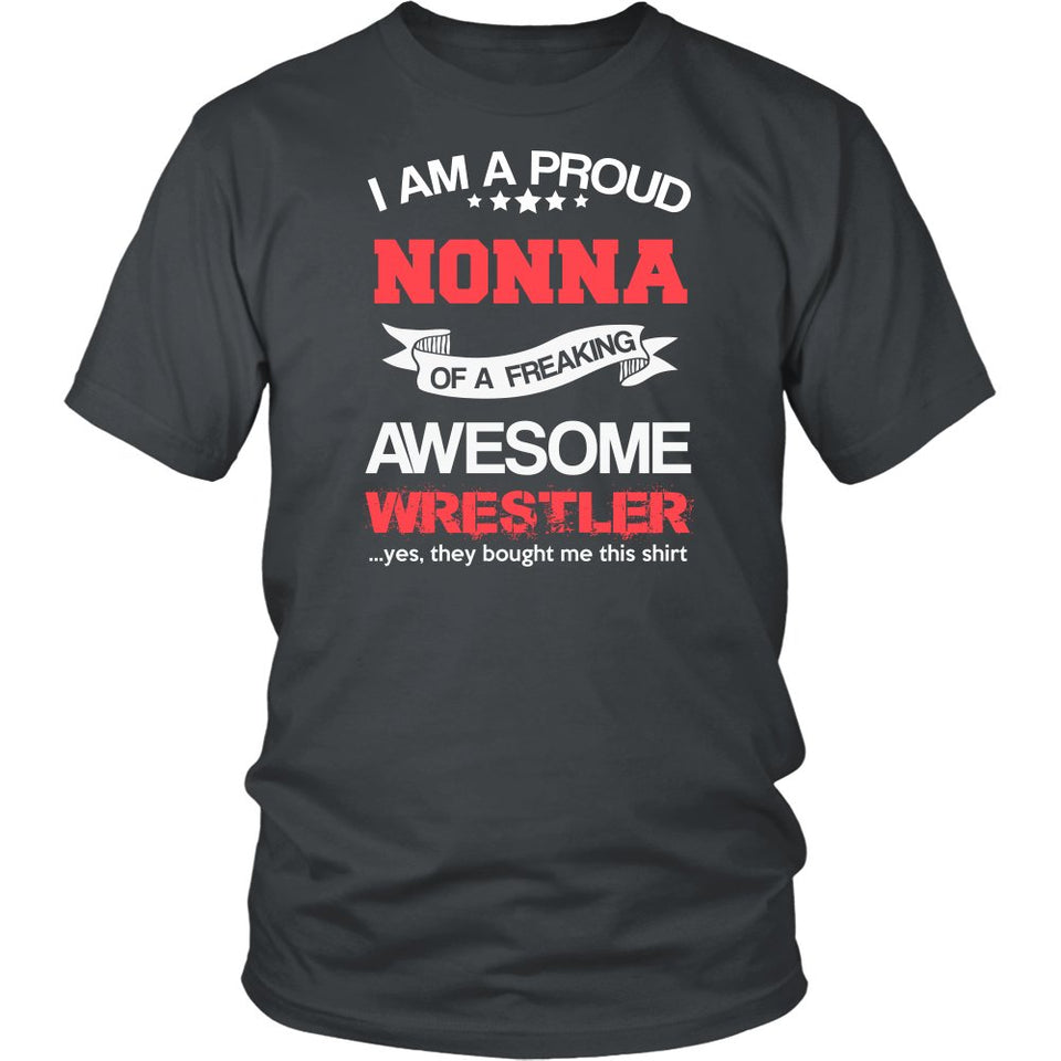Proud Nonna of An Awesome Wrestler T-Shirt