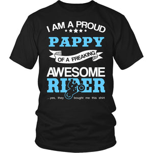 Proud Pappy of An Awesome Motocross Rider T-Shirt