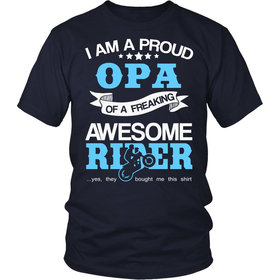 Proud Opa of An Awesome Motocross Rider T-Shirt