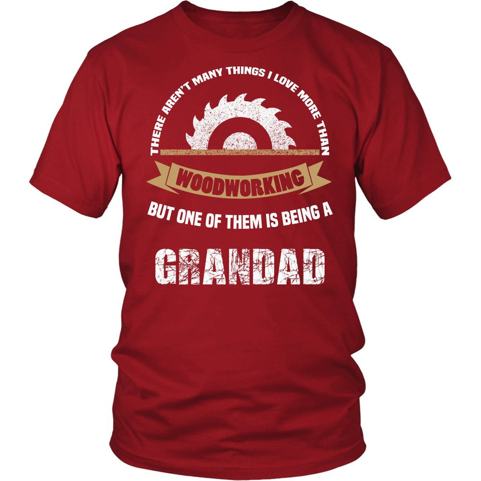This Grandad Loves Woodworking T-Shirt