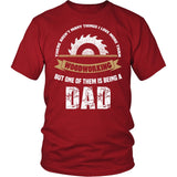 This Dad Loves Woodworking T-Shirt