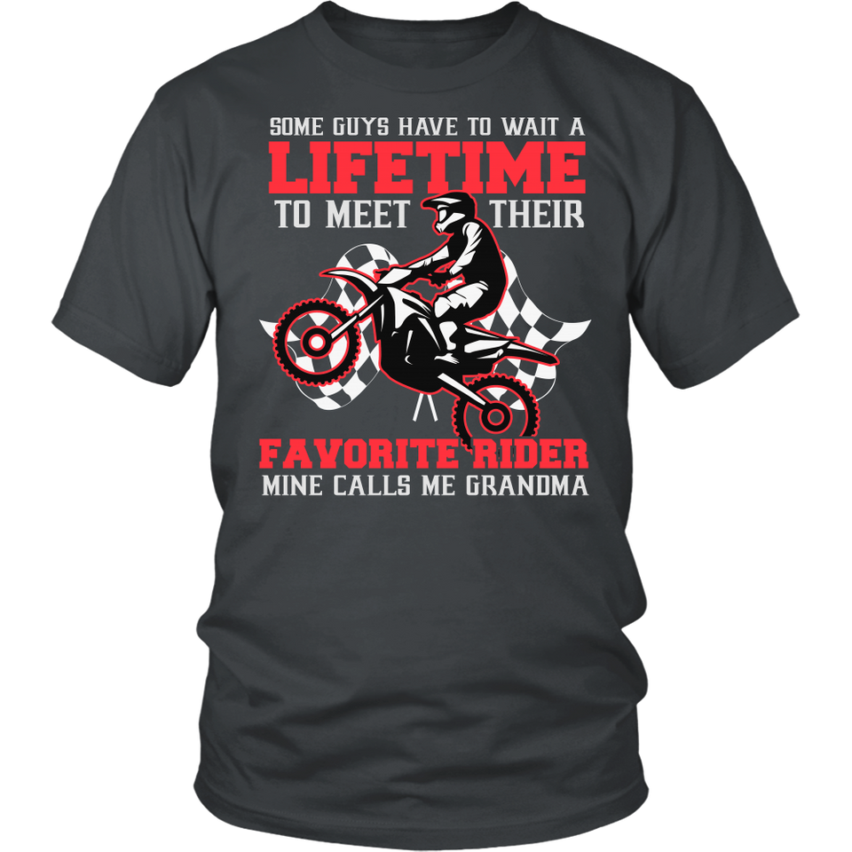 Favorite Motocross Rider - Mine Calls Me Grammy T-Shirt