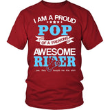 Proud Pop of An Awesome Motocross Rider T-Shirt