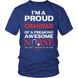 Proud Grandad of An Awesome Nurse T-Shirt