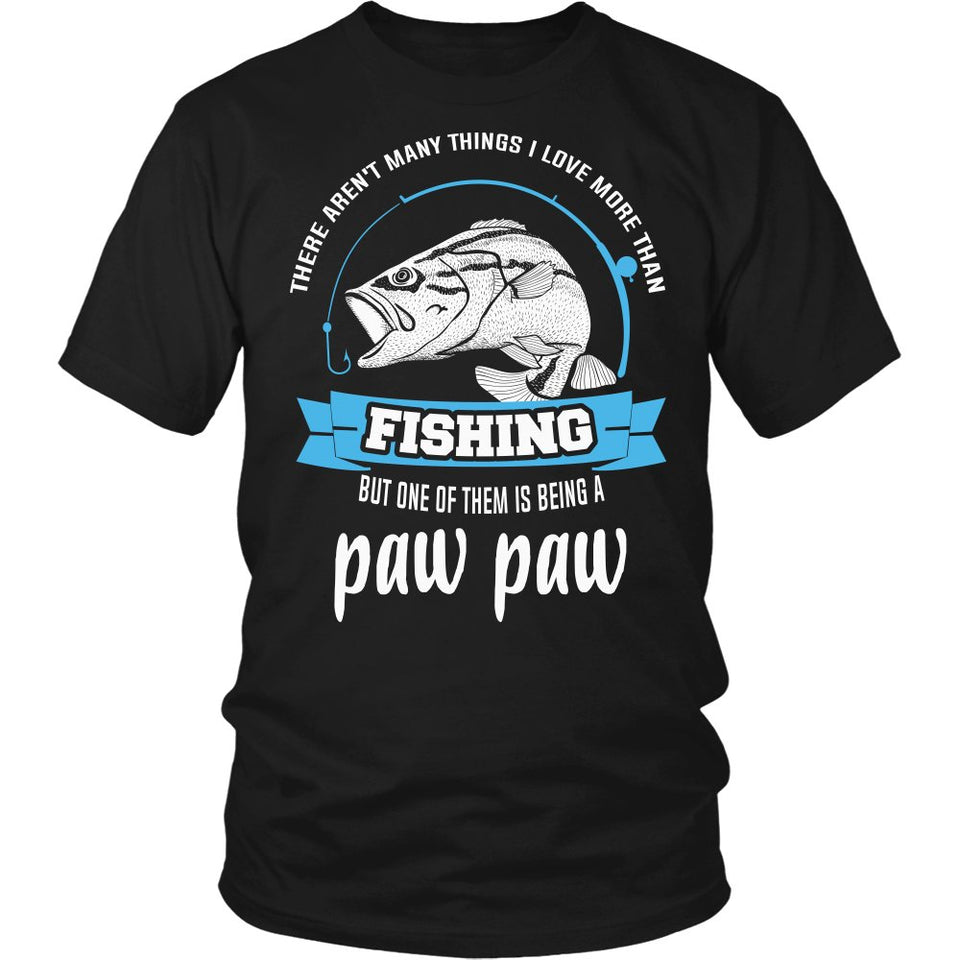 This Paw Paw Loves Fishing T-Shirt