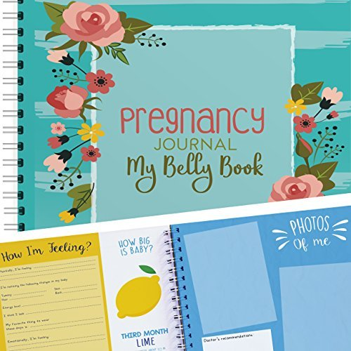 Pregnancy Journal - Flowers Edition