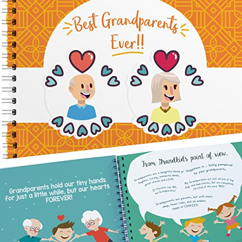 Best Grandparents Ever Memory Book