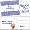 20TH ANNIVERSARY GIFTS FOR COUPLES BY YEAR - Twenty Year Booklet with Matching Card for China Anniversary