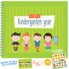 MY KINDERGARDEN YEAR, 24 PAGES- Beautiful Baby 6X8 Memory Keepsake Journal for Preschool, Childcare, Kindergarten and Day Care!